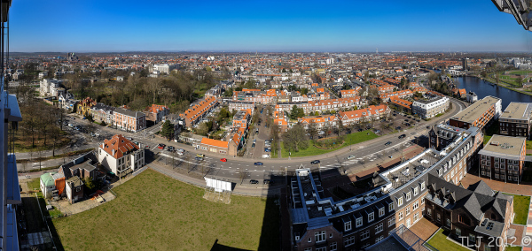 Haarlem Cityscape from Mariastichting tower