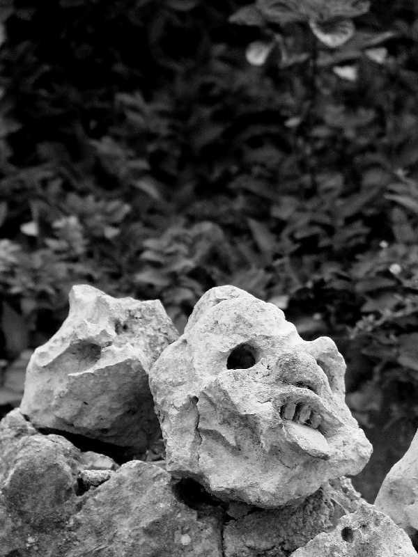 Cabeça de pedra