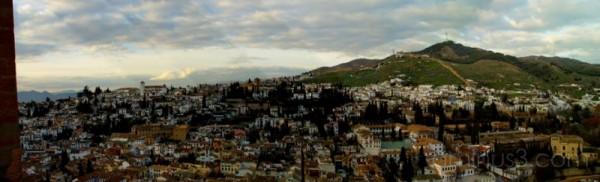 Granada panorâmica