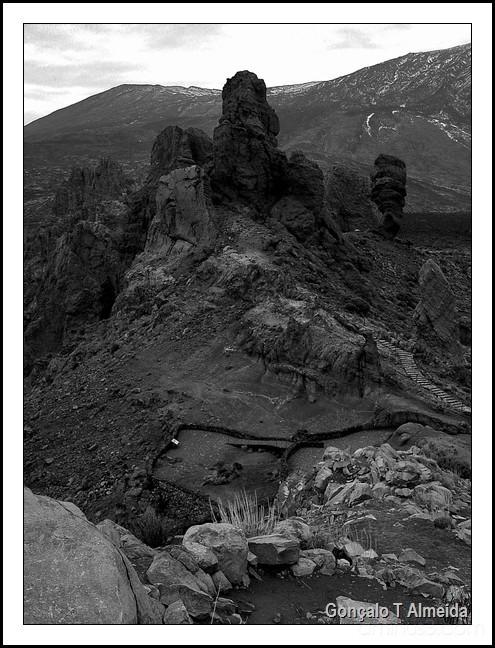 Vulcano landscape in Tenerife