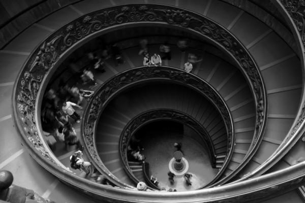 """vatican museum """"double helix"""""""