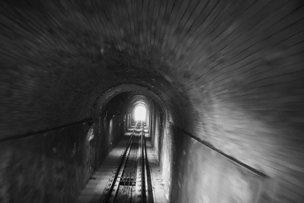 train tunnel motion