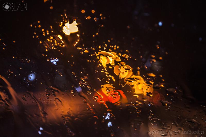 Rasht, rain,night