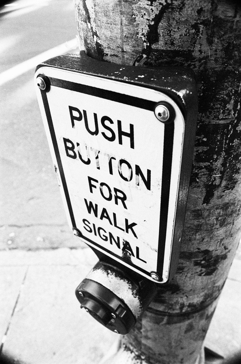 push button for walk signal