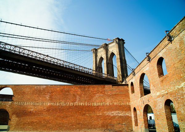conceptual brooklyn bridge