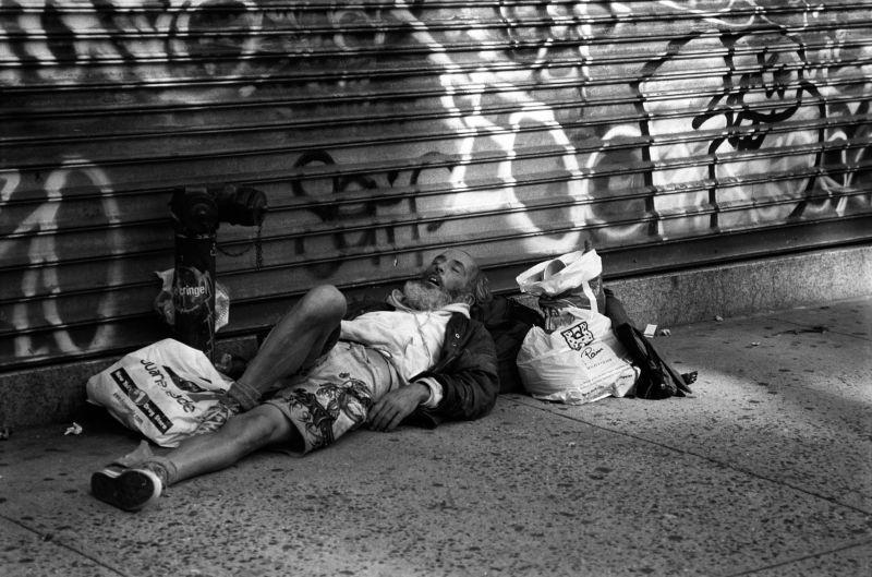 sidewalk snooze
