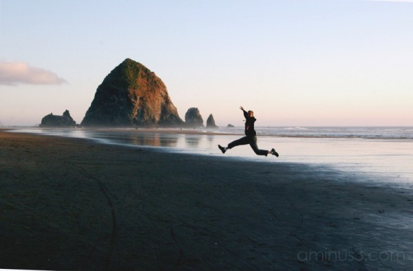 Frollicking Cannon Beach