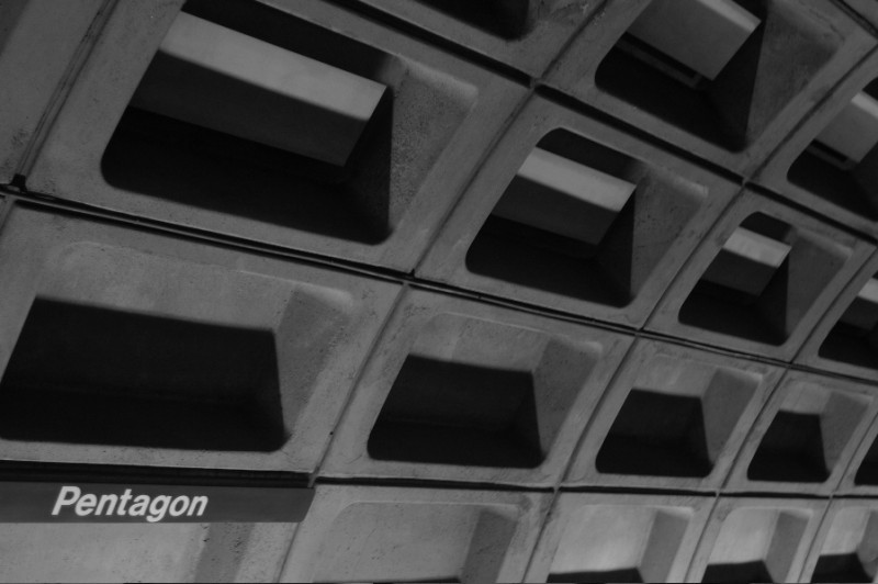 Pentagon Washington DC subway