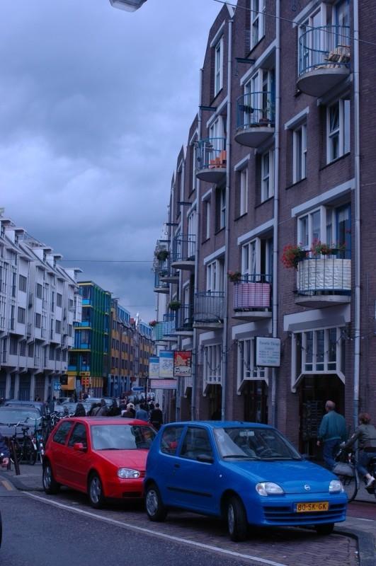 Blue Amsterdam Street
