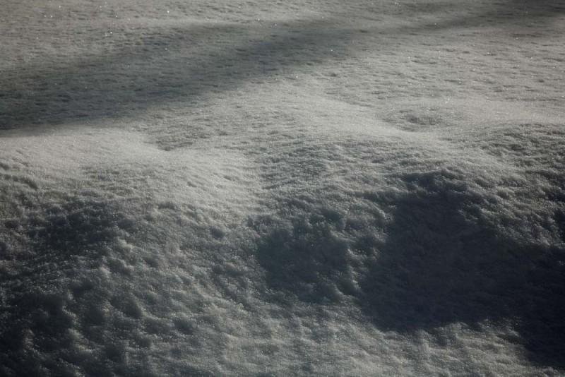 Snow.  Just Snow.