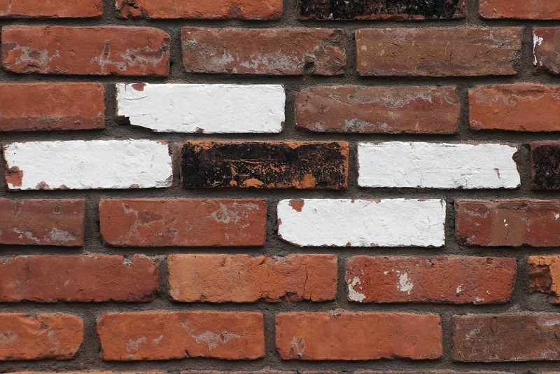 Four White Bricks