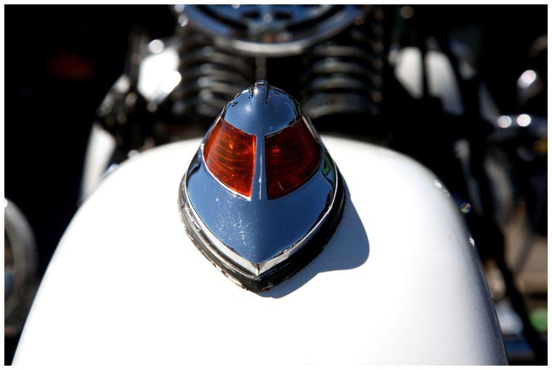 Front Fender of 1939 Harley Davidson