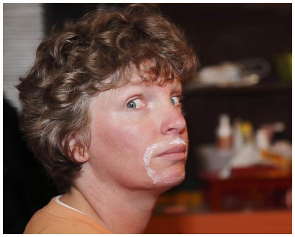 Getting A Moustache