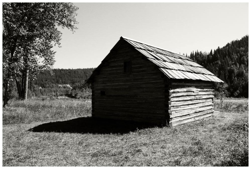Miner's Cabin - Quesnel Forks, B.C.