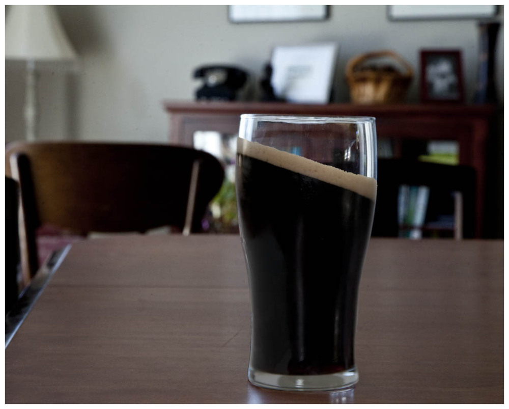 Guinness is so thick that it takes several minutes