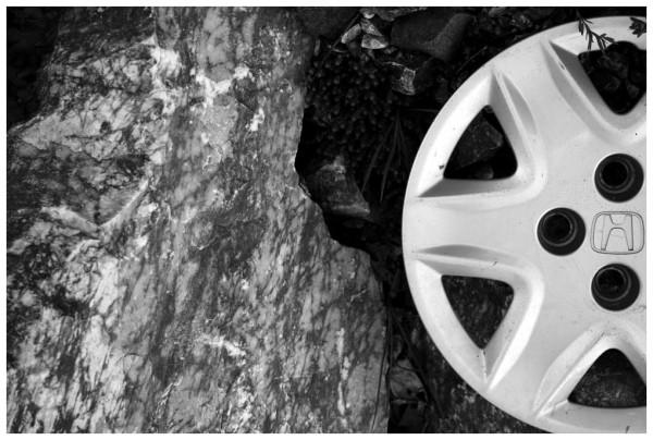 Caught Between A Rock And A Honda