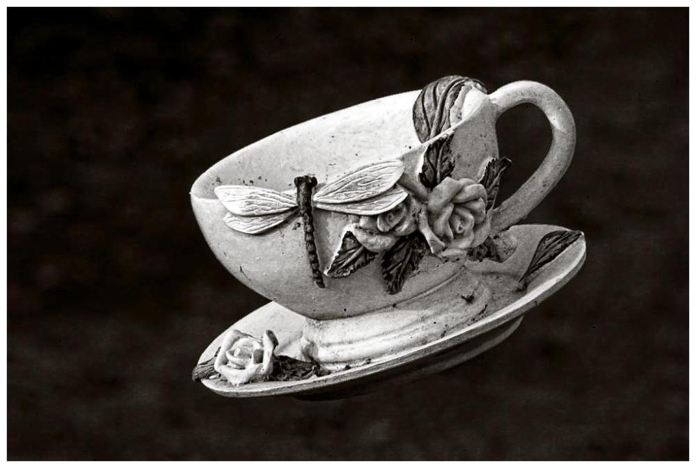 Flying Cup And Saucer