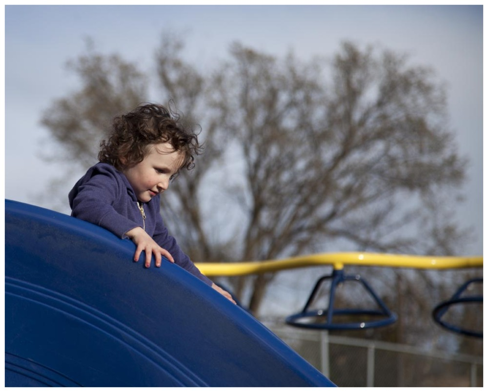 Another Day. Another Playground. Another Slide.