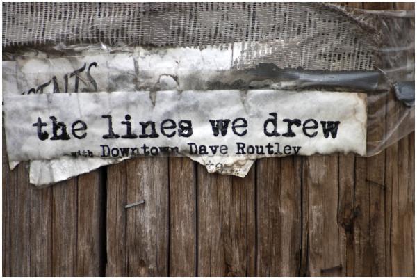 the lines we drew