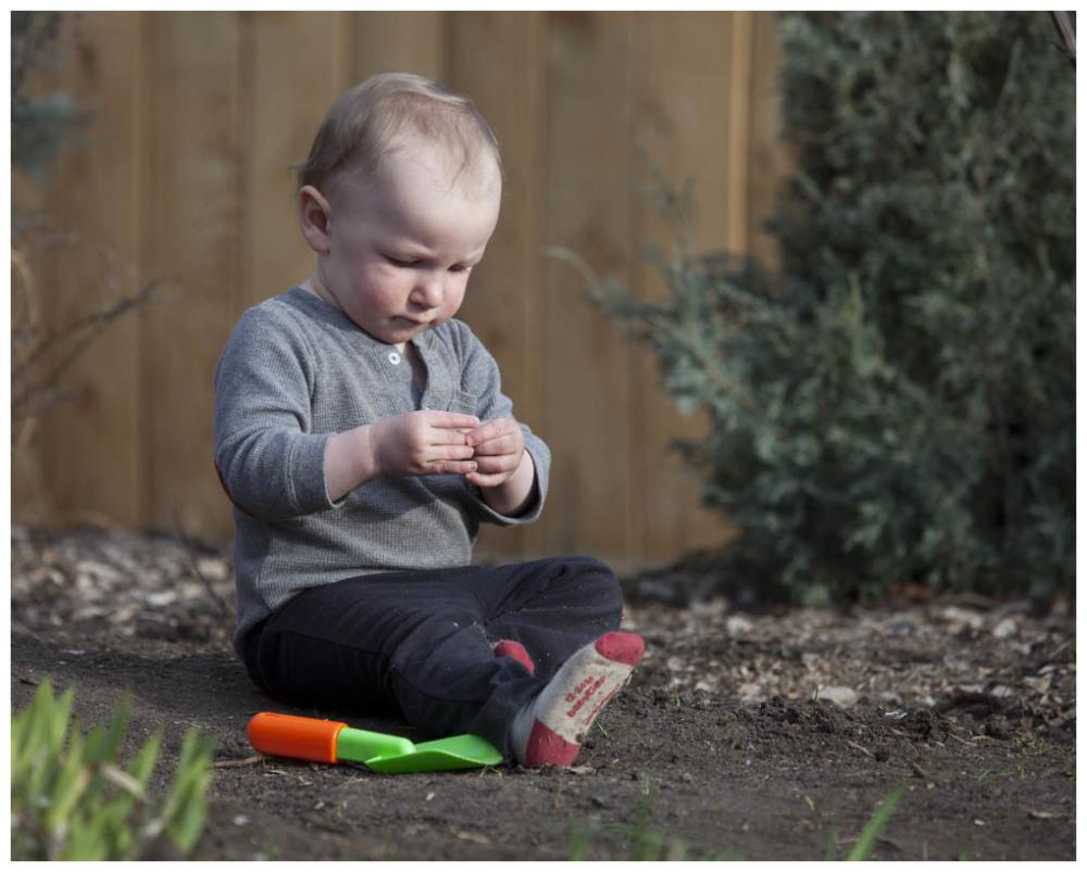 Shoeless Gardening