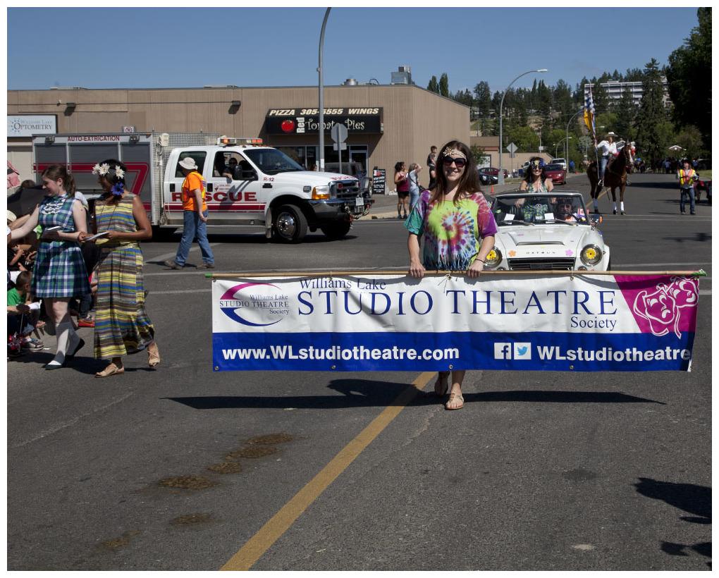 Williams Lake Stampede Parade