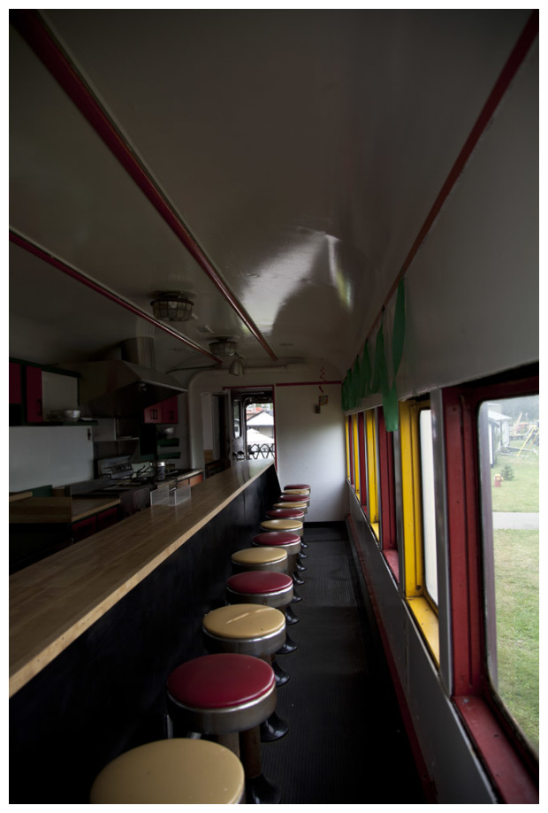 Old BC Rail Gang Diner Car