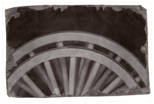 Wheels In Black And White
