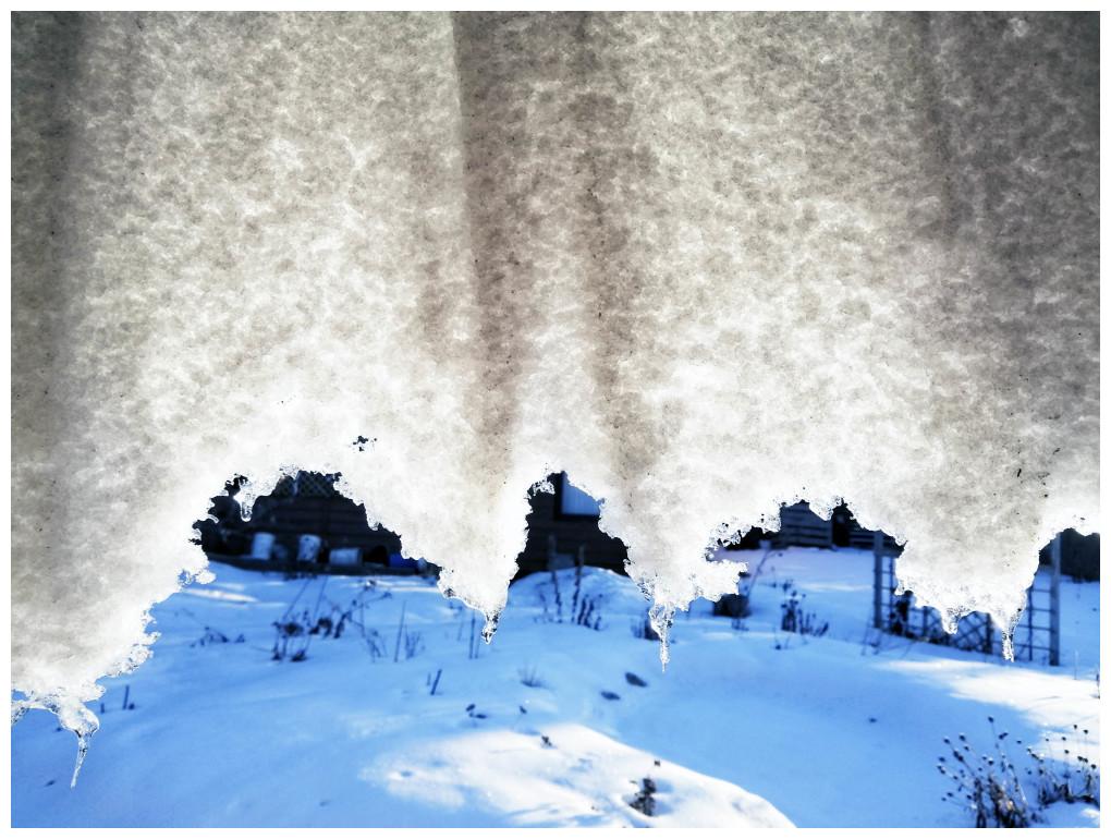 Curtain of Snow