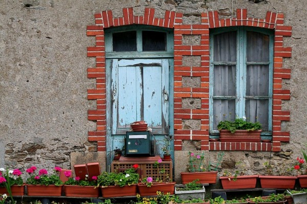 an old house in France