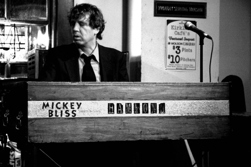Mickey Bliss at the Kirkland Cafe