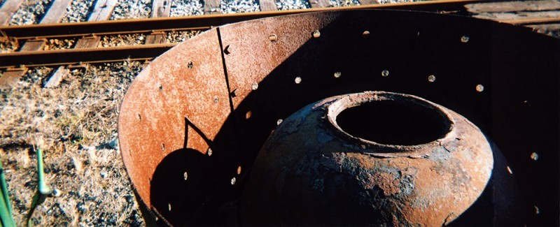 Coal burner at the Railroad Yard