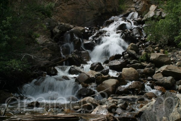Waterfall on Guanella Pass near Georgetown, CO