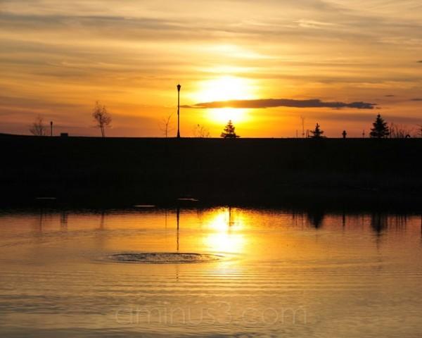 Sunset Ripple
