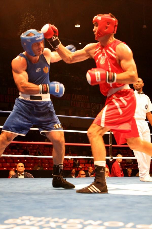 World Champioships of Boxing.