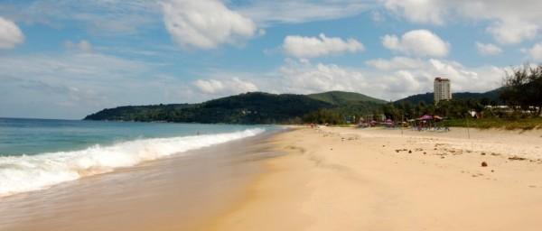 Karon beach in Phuket Thailand.