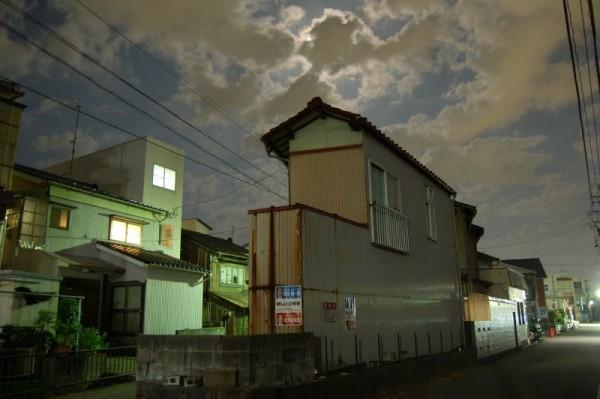 Night photograph of Kanazawa city