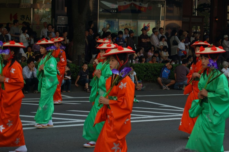 Parade at the Hyakumangoku matsuri