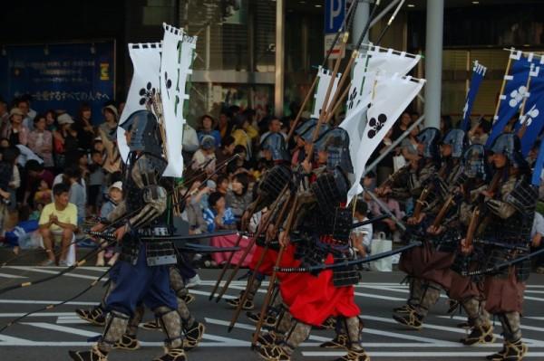 Samurai enter Kanazawa