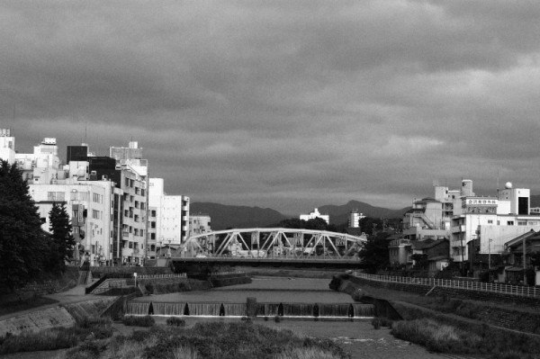Bridge over the Saigawa in Kanazawa