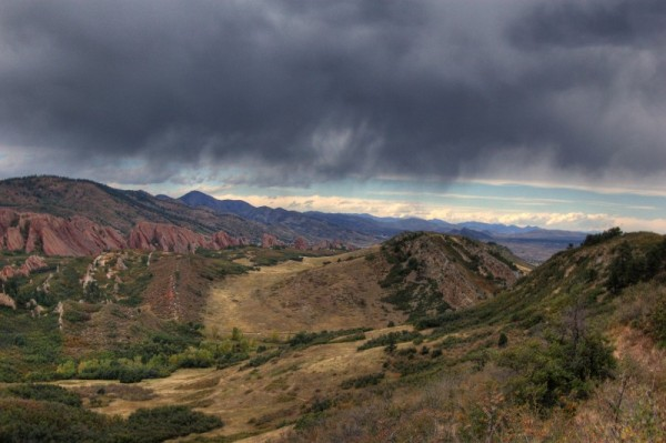 Storm Clouds over Roxbourough State Park