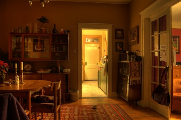 My living room in HDR