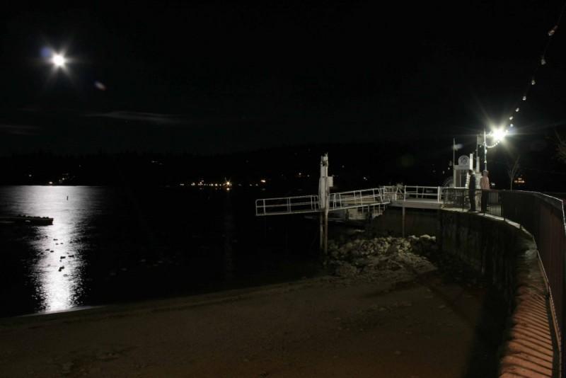 Beautiful Night at Lake Arrowhead