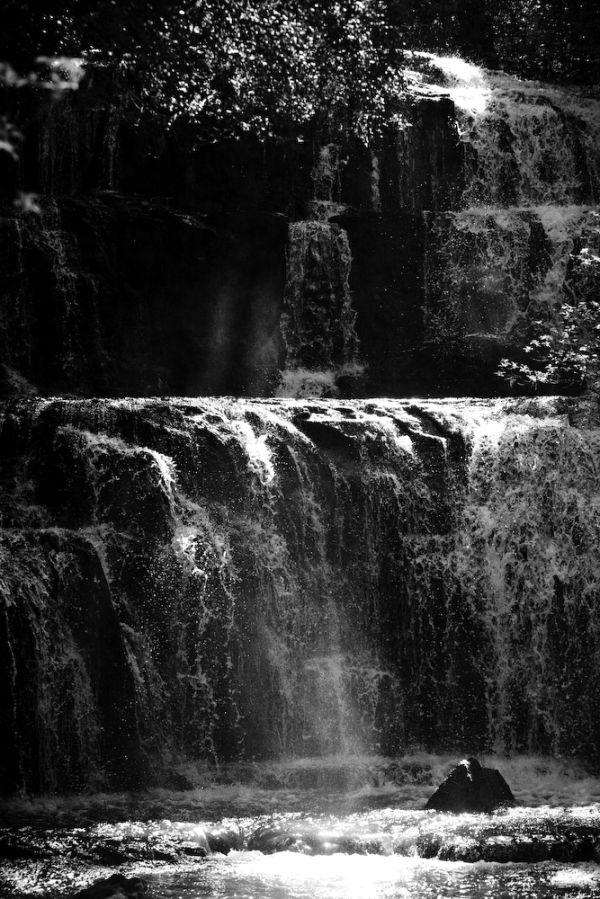 parakanui falls, catlins, NZ