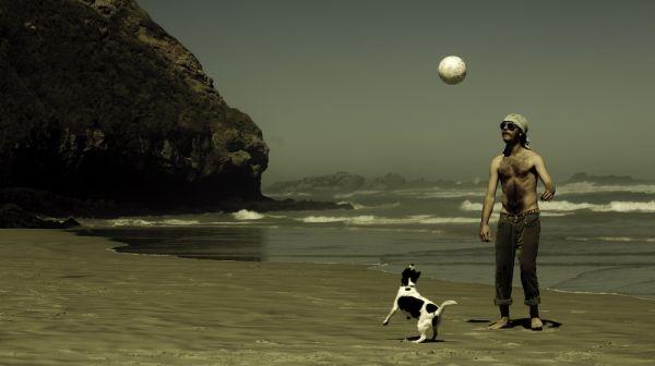 noah and dog