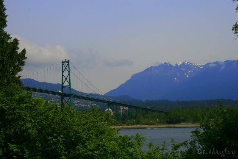 The Lions' Gate Bridge, Vancouver, B.C.