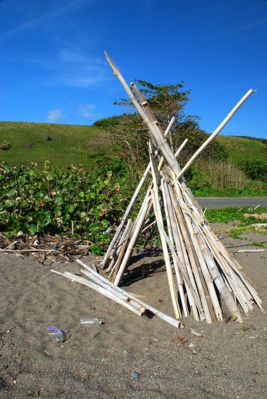 bamboo Jamaica teppee