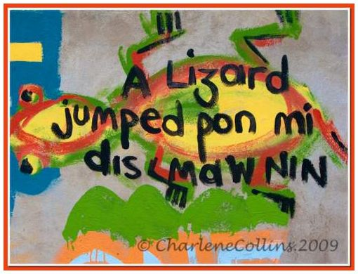 Jamaica Red Rubberband street graffitti