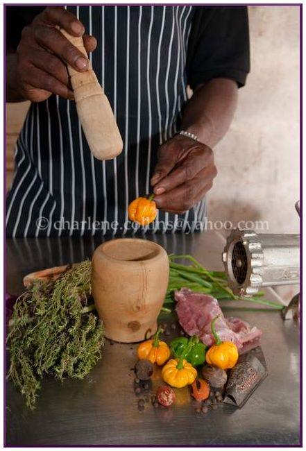 Jerk Ethnic Food Jamaica sausage