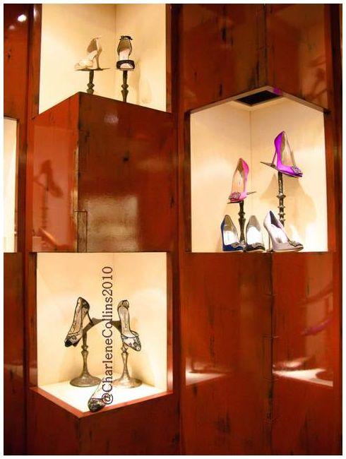 New York Bergdorf Goodman Shoe shopping