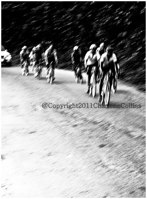 Cyclists Jamaica road
